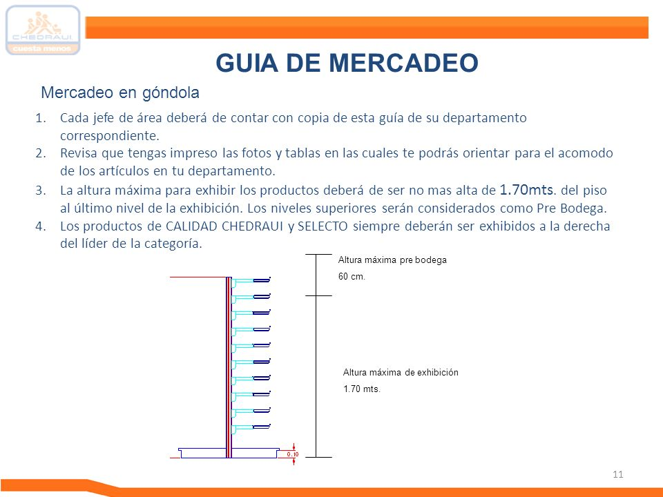 GUIA DE MERCADEO Mercadeo en góndola
