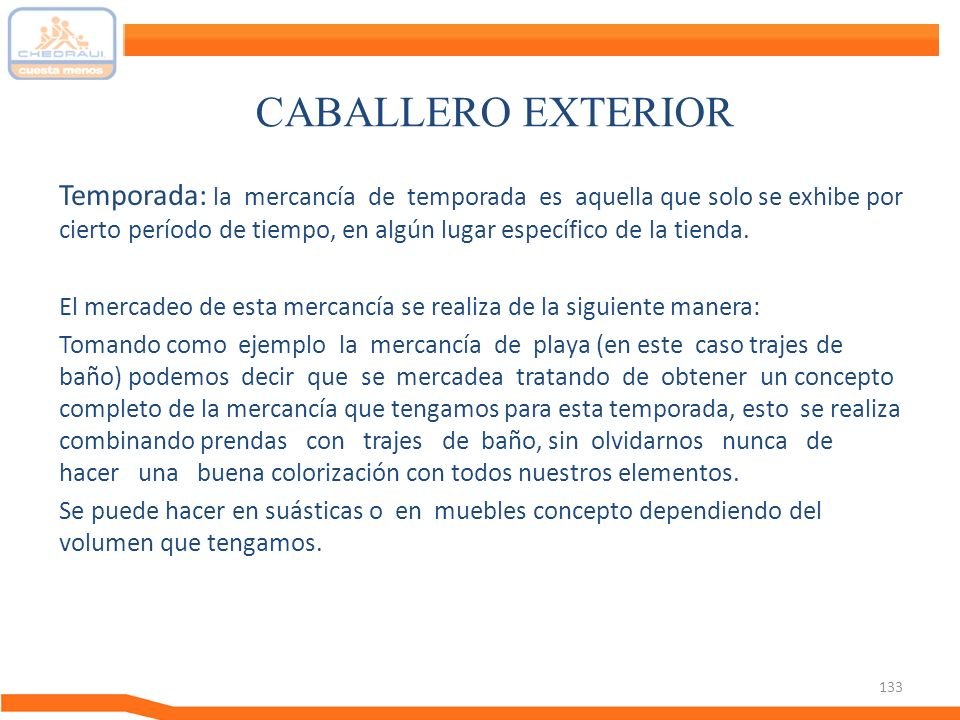 CABALLERO EXTERIOR