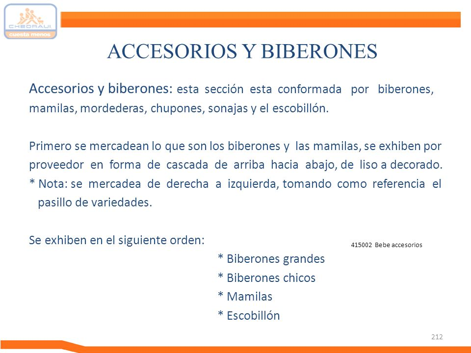 ACCESORIOS Y BIBERONES