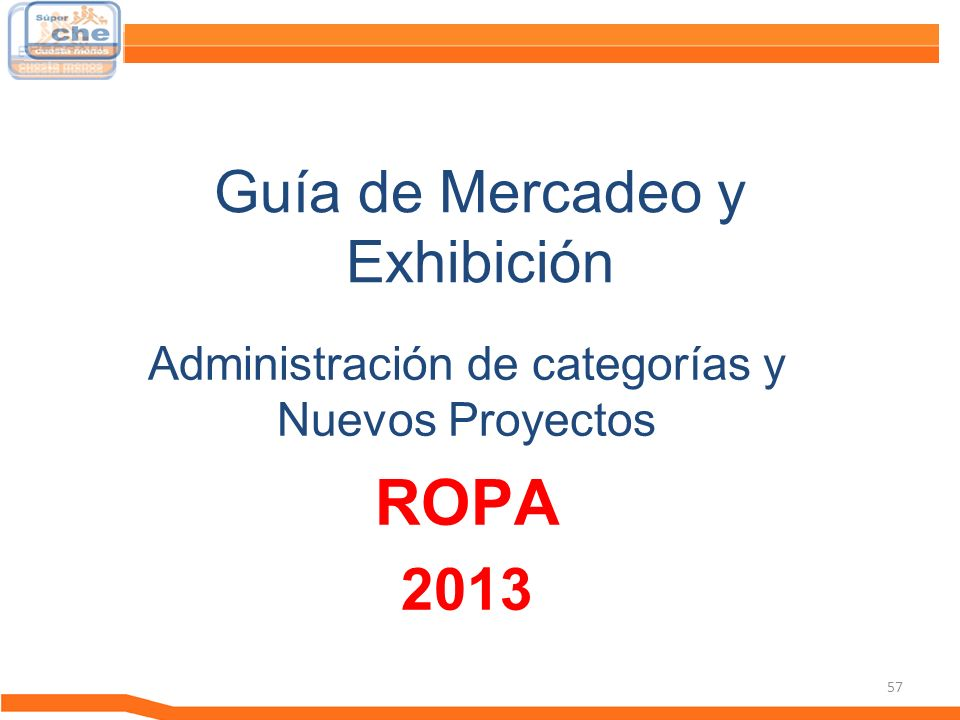 Guía de Mercadeo y Exhibición