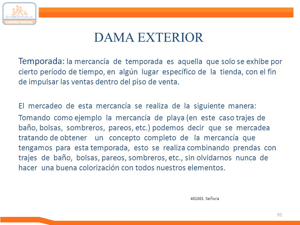 DAMA EXTERIOR