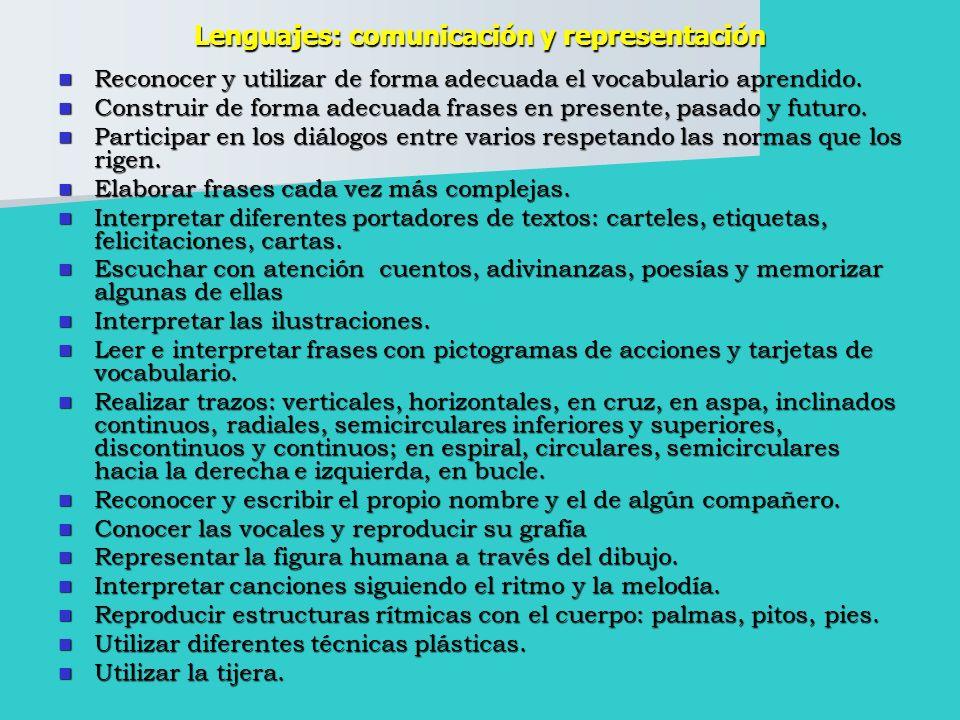 Lenguajes: comunicación y representación