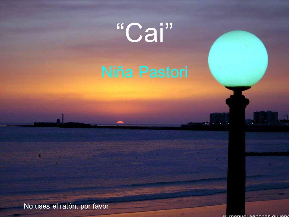 Cai Niña Pastori No uses el ratón, por favor