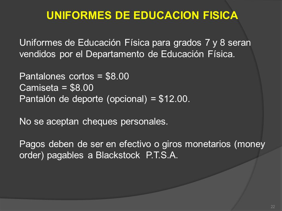 UNIFORMES DE EDUCACION FISICA