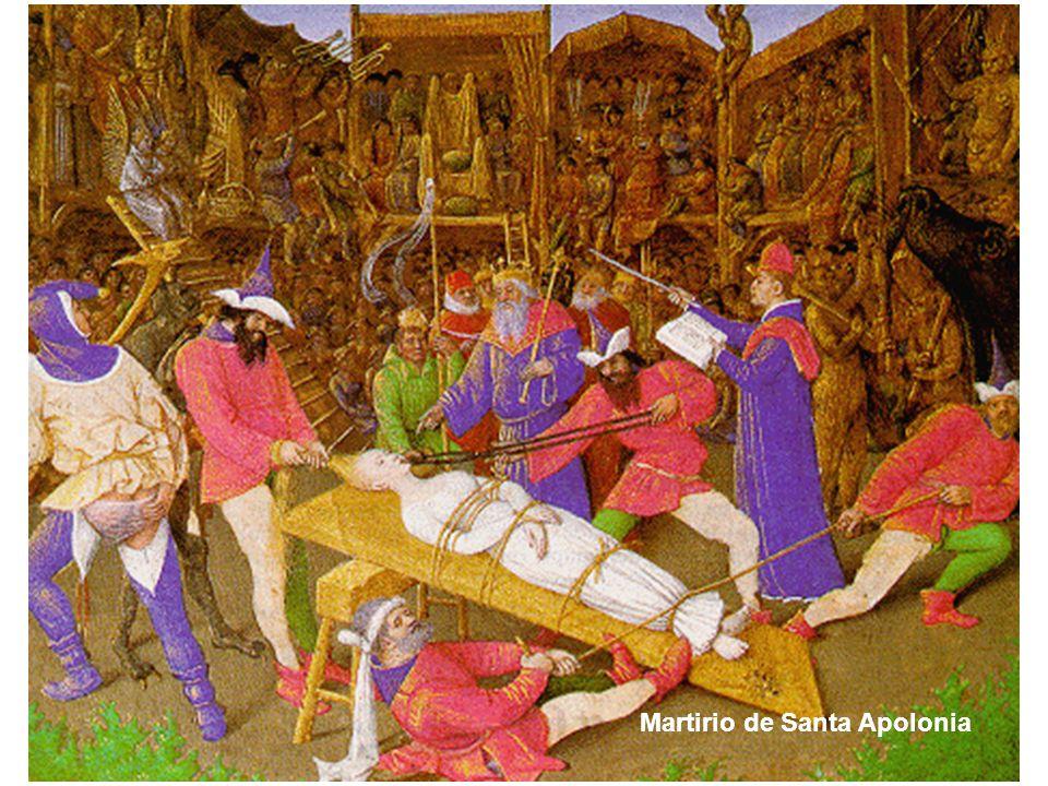 Martirio de Santa Apolonia