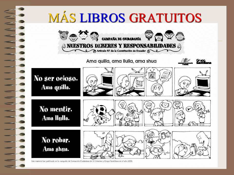 MÁS LIBROS GRATUITOS