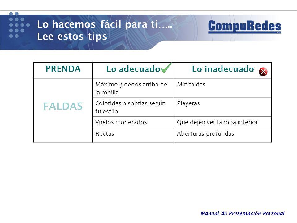 Manual de Presentación Personal