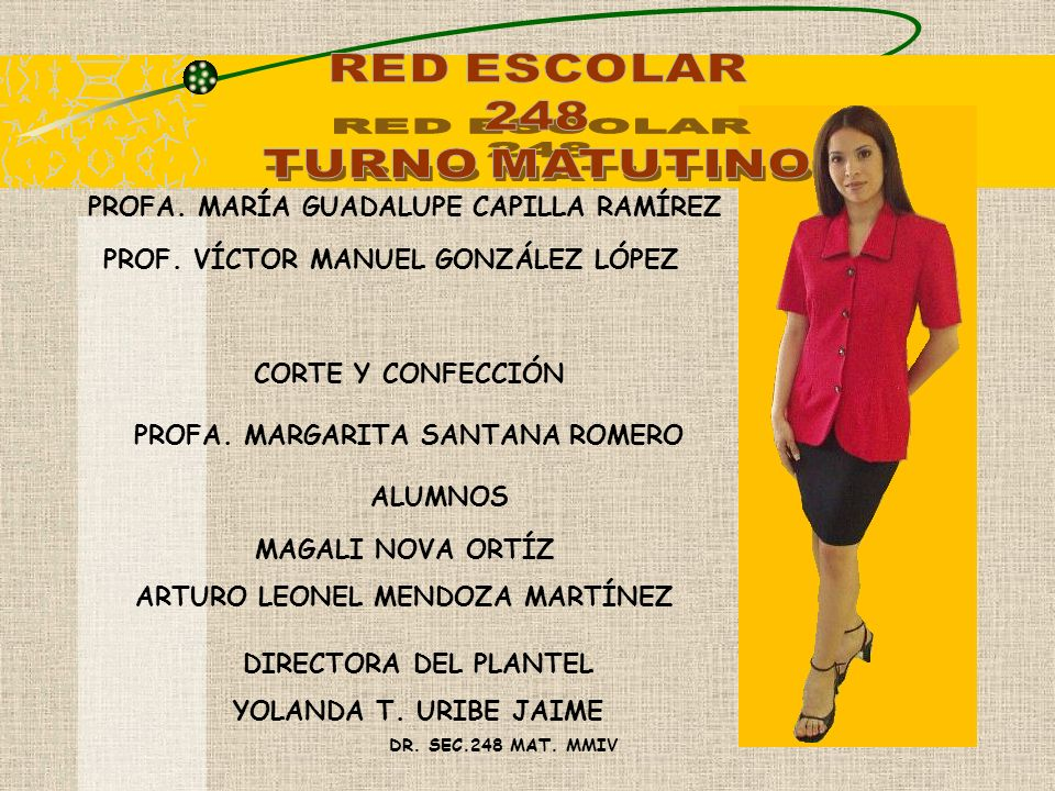 RED ESCOLAR 248 TURNO MATUTINO