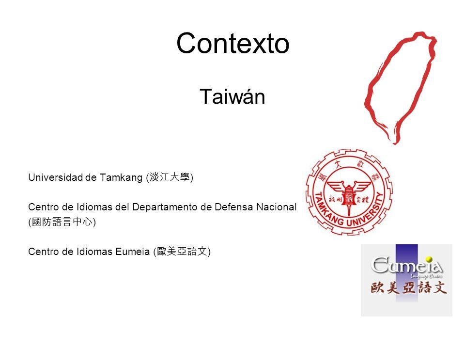 Contexto Taiwán Universidad de Tamkang (淡江大學)