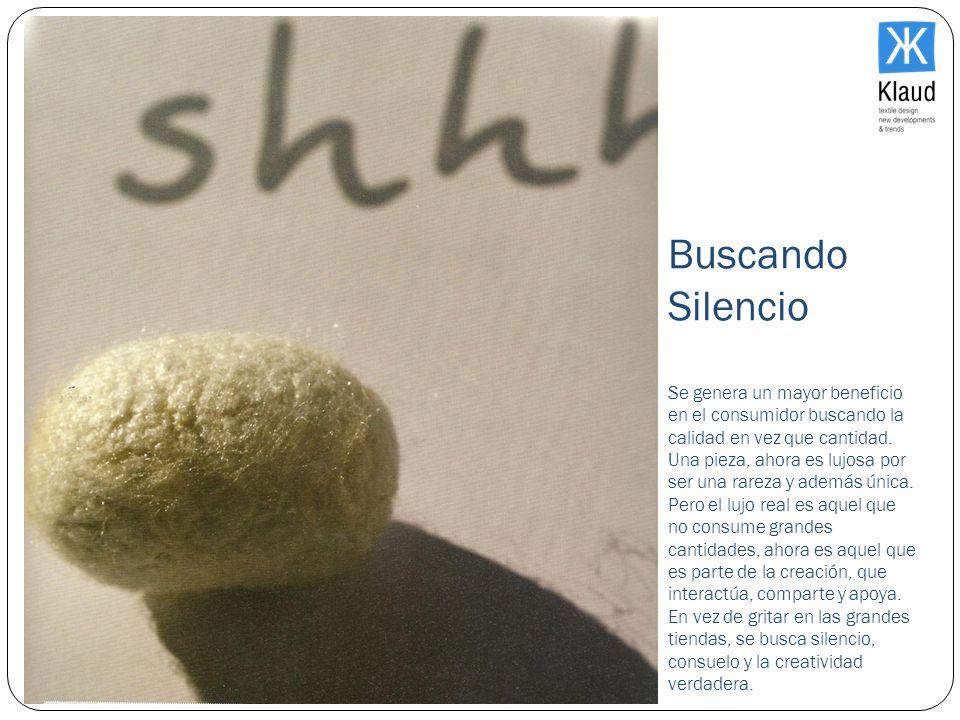 Buscando Silencio Se genera un mayor beneficio en el consumidor buscando la calidad en vez que cantidad.