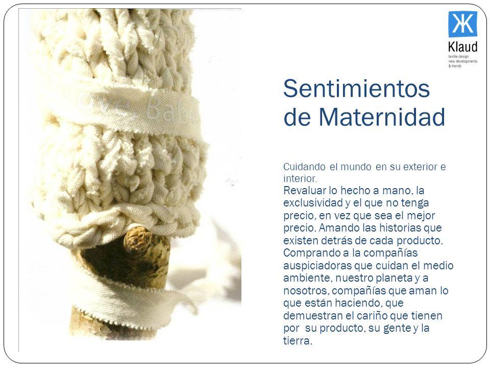 El MercadoSentimientos de Maternidad Cuidando el mundo en su exterior e interior.