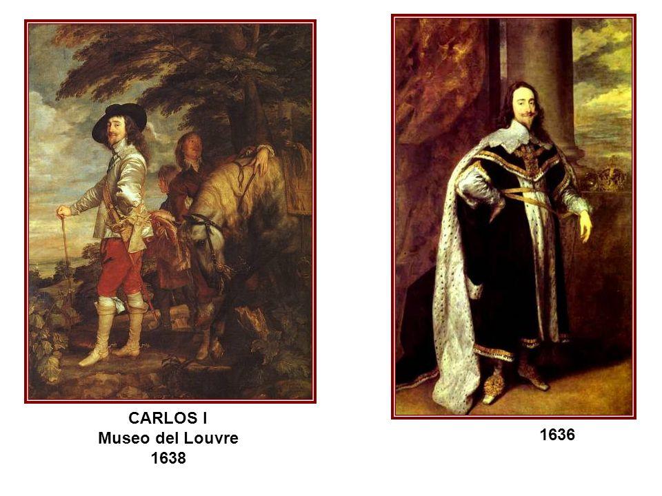 CARLOS I Museo del Louvre 1638 1636