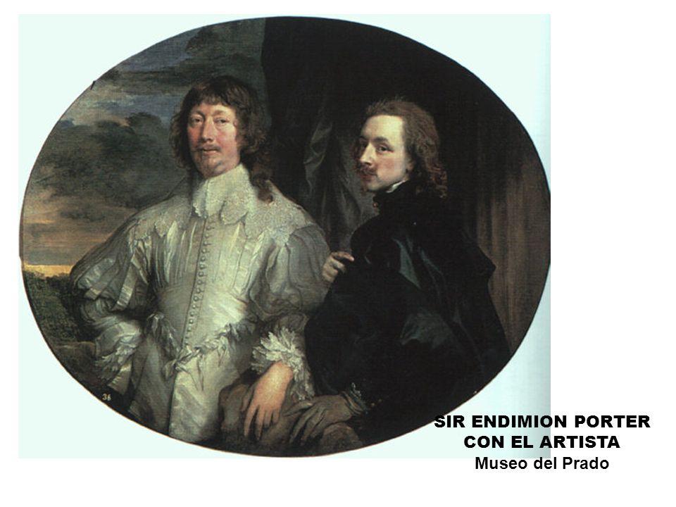 SIR ENDIMION PORTER CON EL ARTISTA Museo del Prado