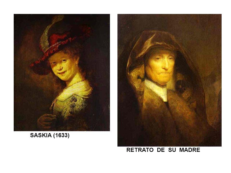 SASKIA (1633) RETRATO DE SU MADRE