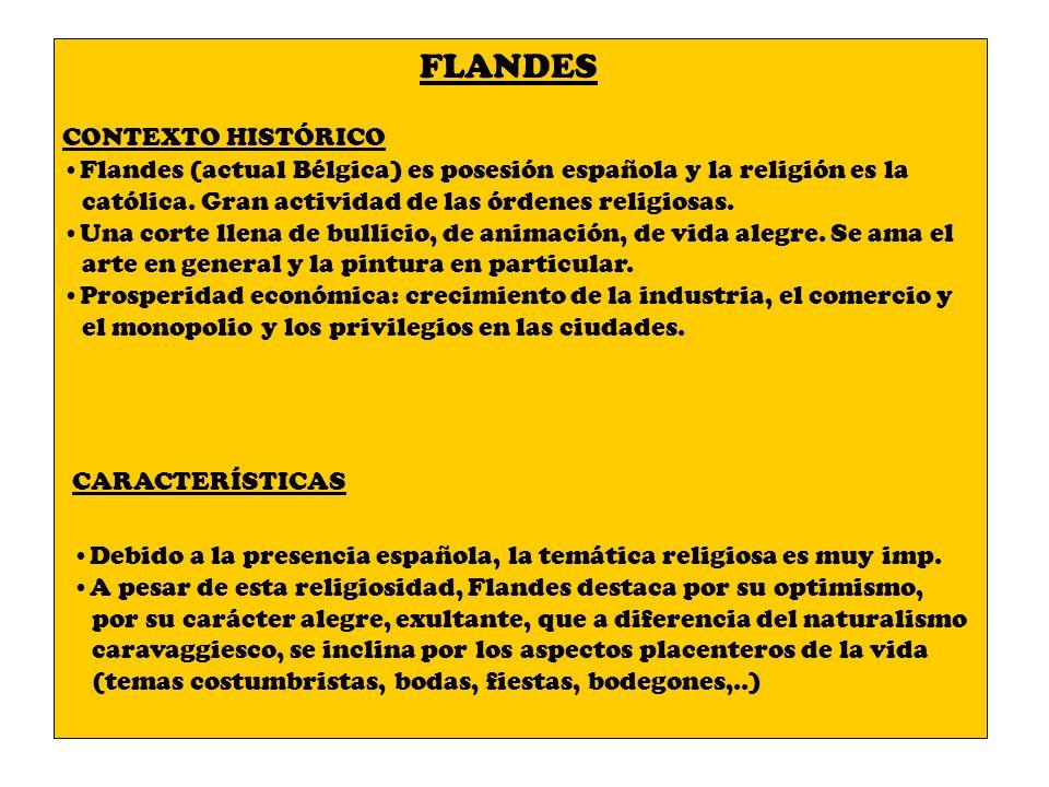 FLANDES CONTEXTO HISTÓRICO
