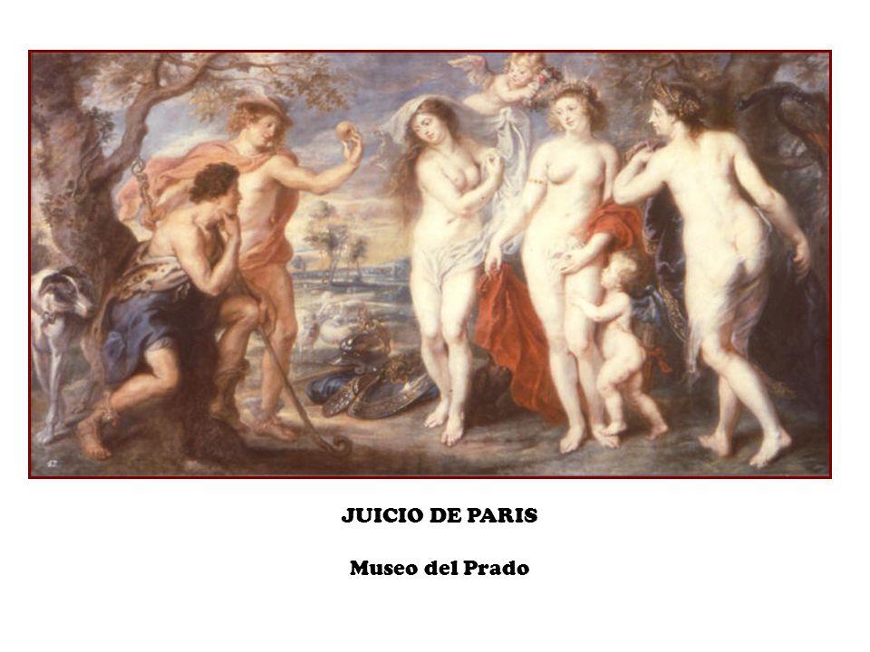 JUICIO DE PARIS Museo del Prado