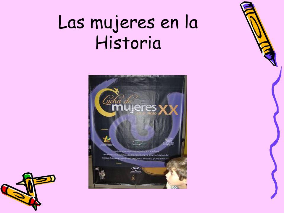 Las mujeres en la Historia
