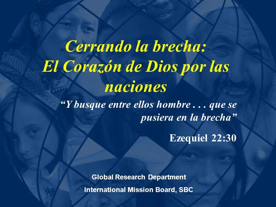 Cerrando la brecha: El Corazón de Dios por las naciones