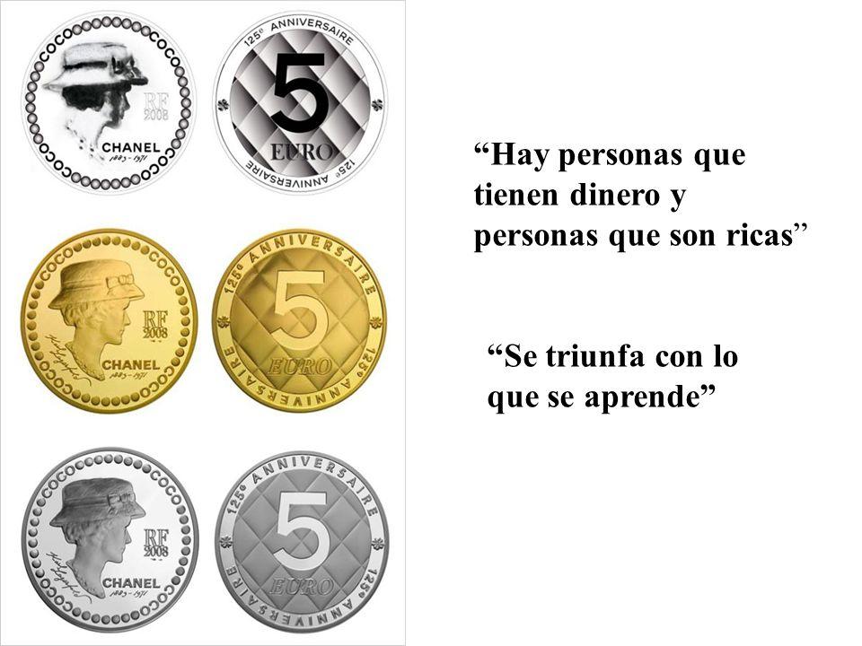 Hay personas que tienen dinero y personas que son ricas