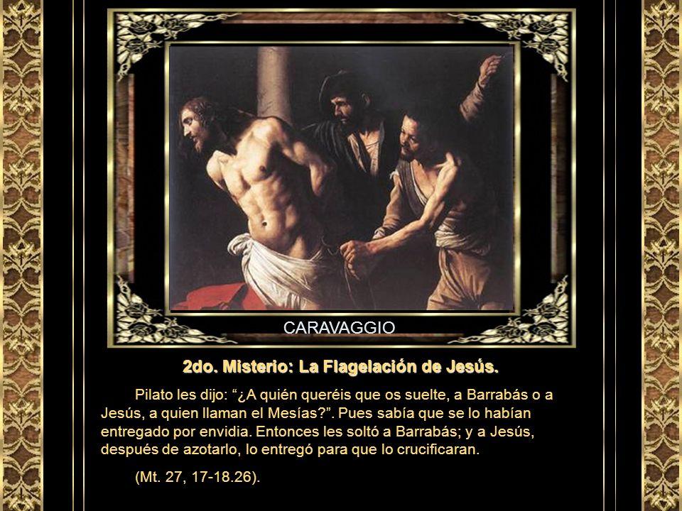 2do. Misterio: La Flagelación de Jesús.