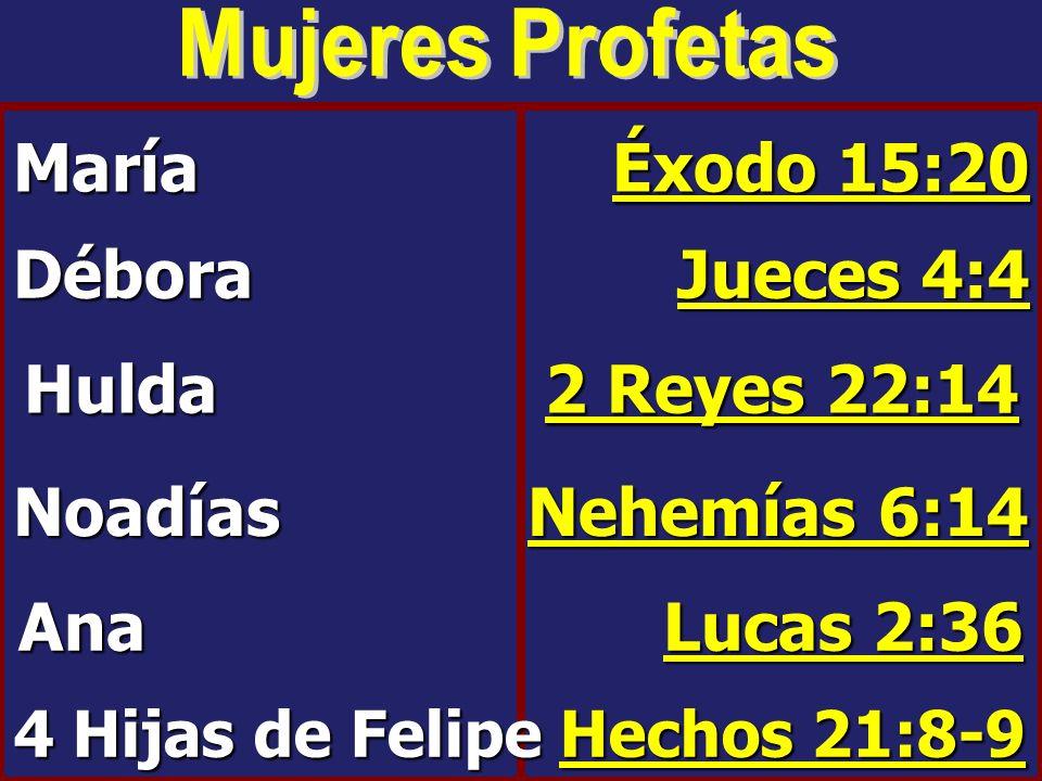 4 Hijas de Felipe Hechos 21:8-9