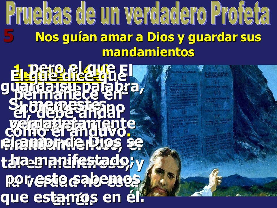 5 Juan 14:15 Si me amáis, guardad mis mandamientos