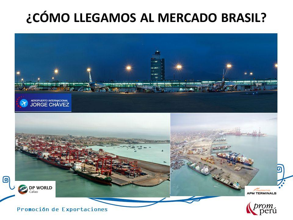 ¿CÓMO LLEGAMOS AL MERCADO BRASIL