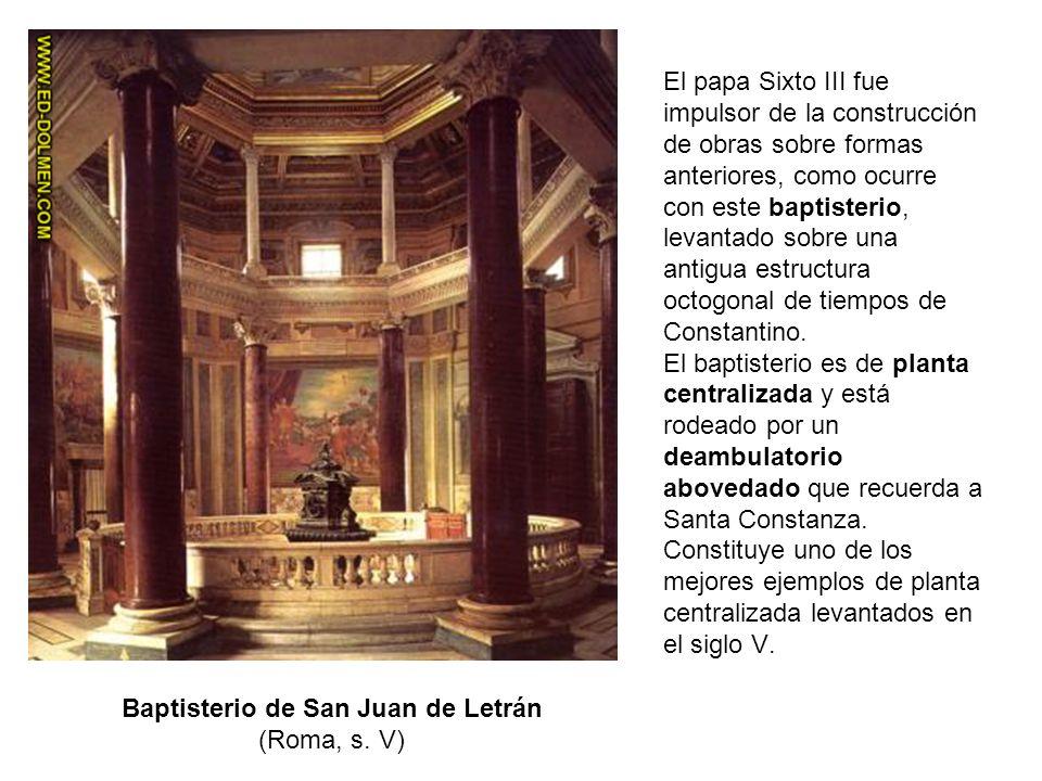Baptisterio de San Juan de Letrán (Roma, s. V)
