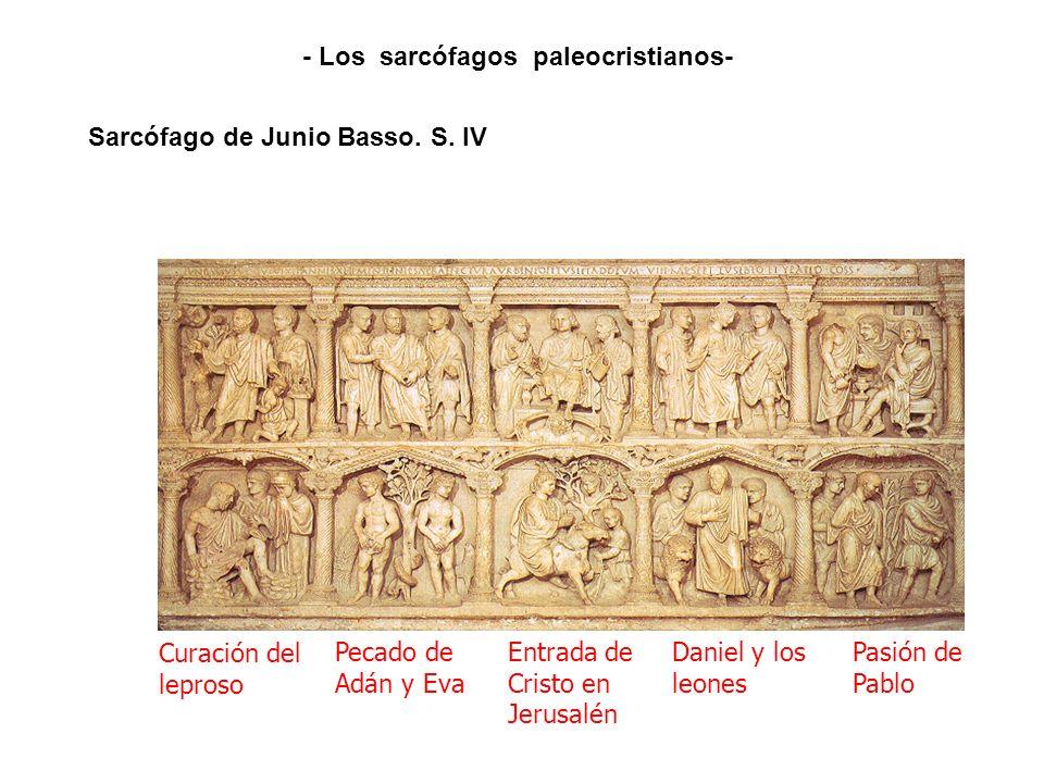 Sarcófago de Junio Basso. S. IV