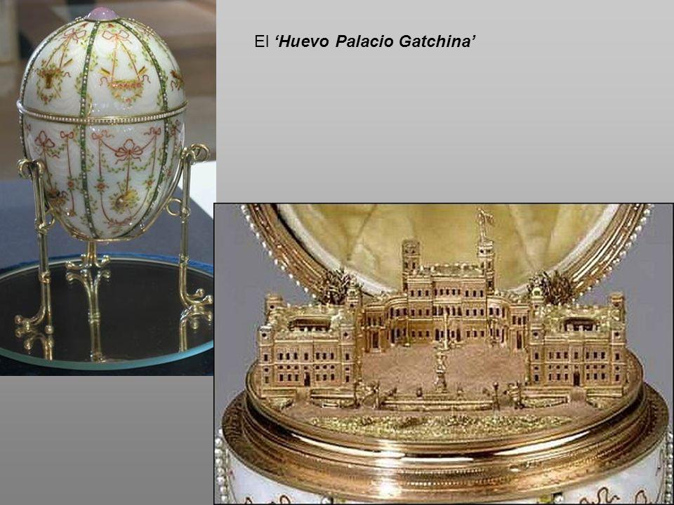 El 'Huevo Palacio Gatchina'