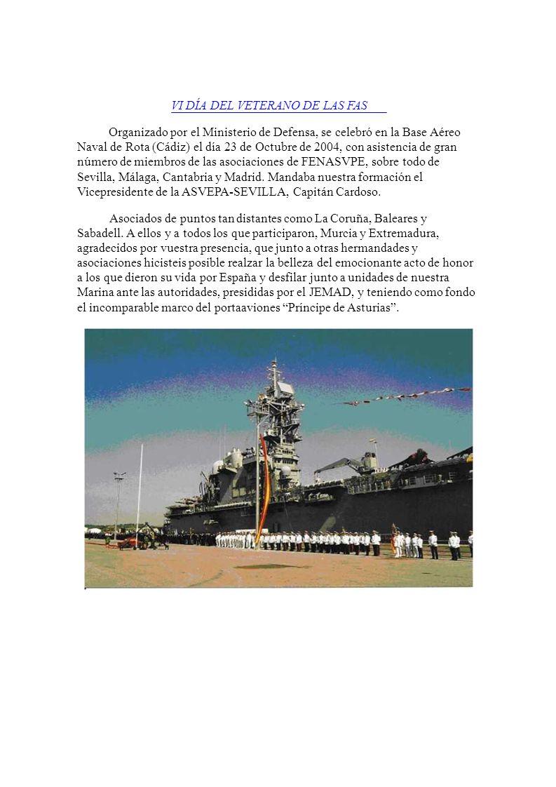Organizado por el Ministerio de Defensa, se celebró en la Base Aéreo