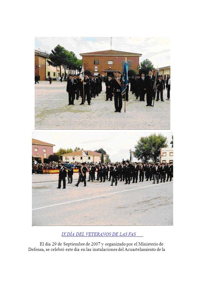 El día 29 de Septiembre de 2007 y organizado por el Ministerio de