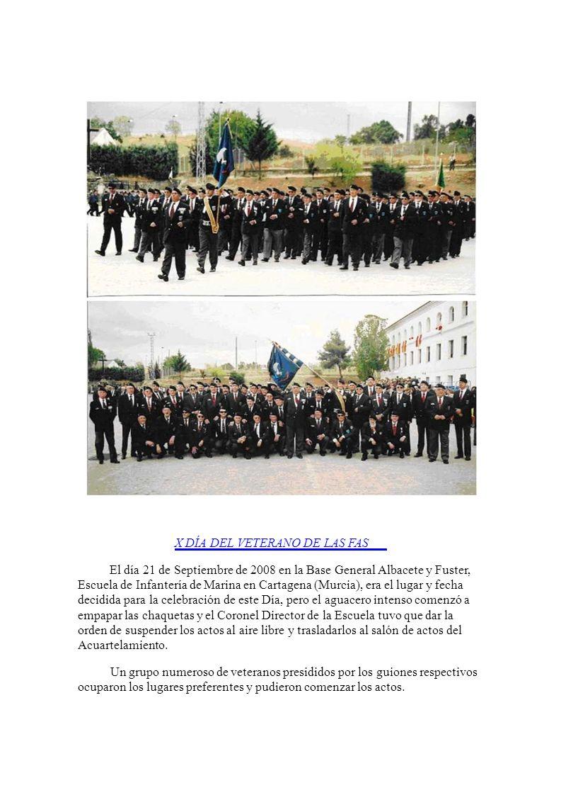 El día 21 de Septiembre de 2008 en la Base General Albacete y Fuster,