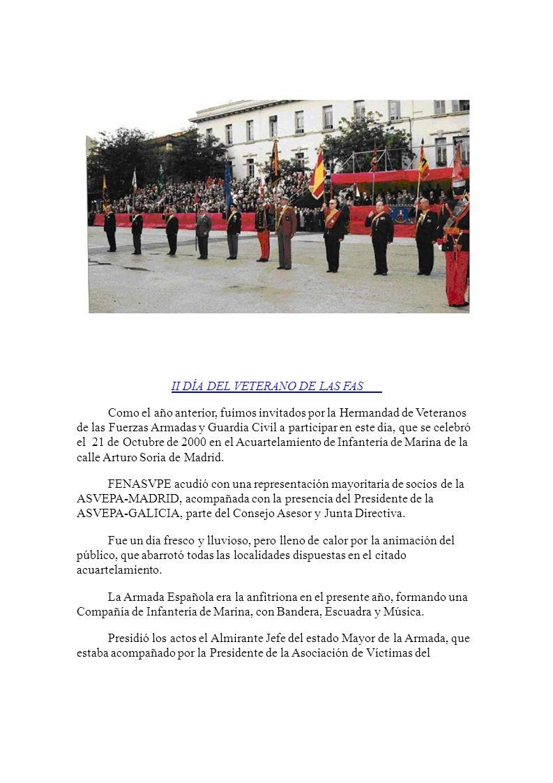 Como el año anterior, fuimos invitados por la Hermandad de Veteranos