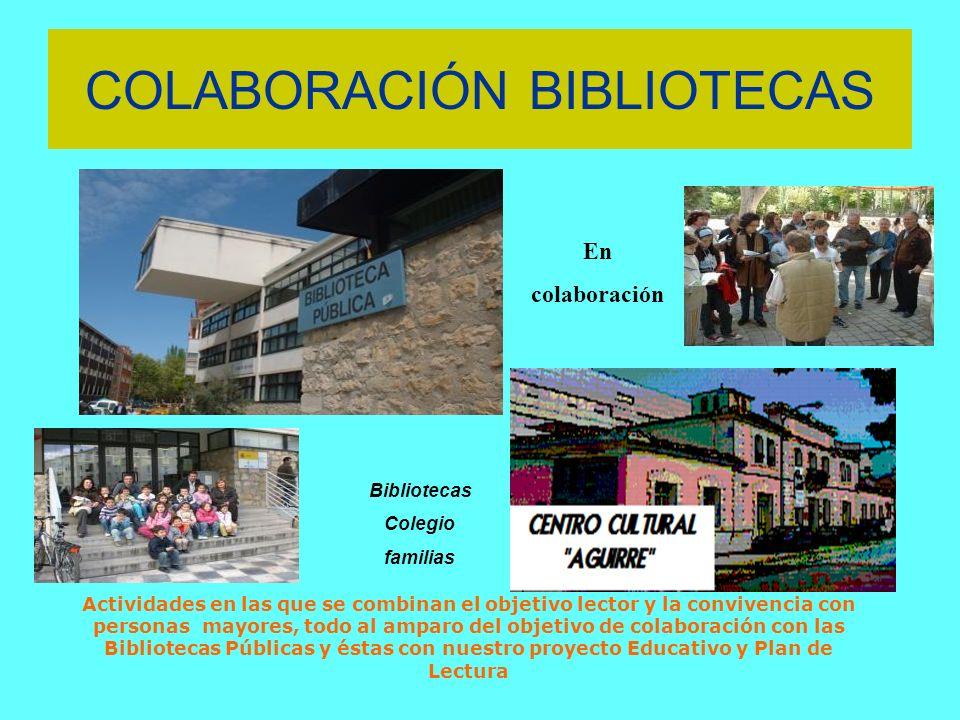 COLABORACIÓN BIBLIOTECAS
