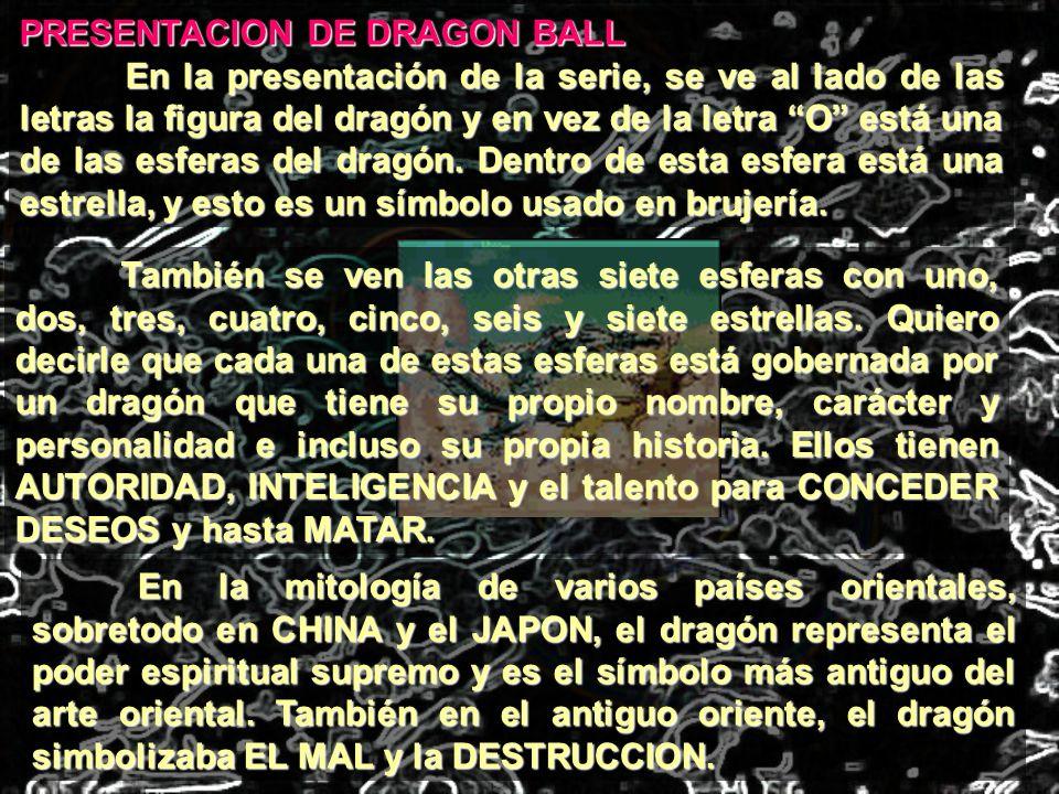 PRESENTACION DE DRAGON BALL