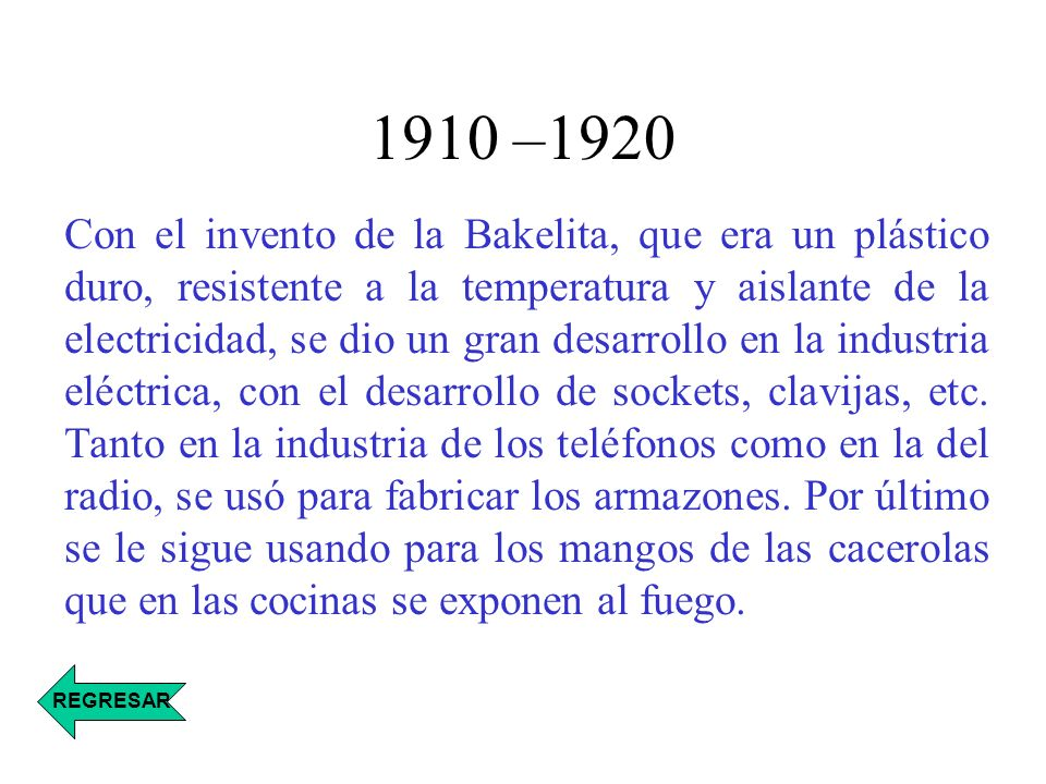1910 –1920