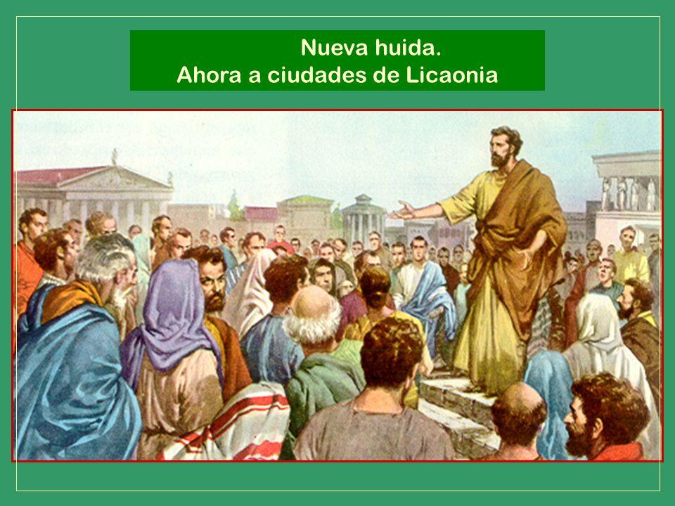 Ahora a ciudades de Licaonia