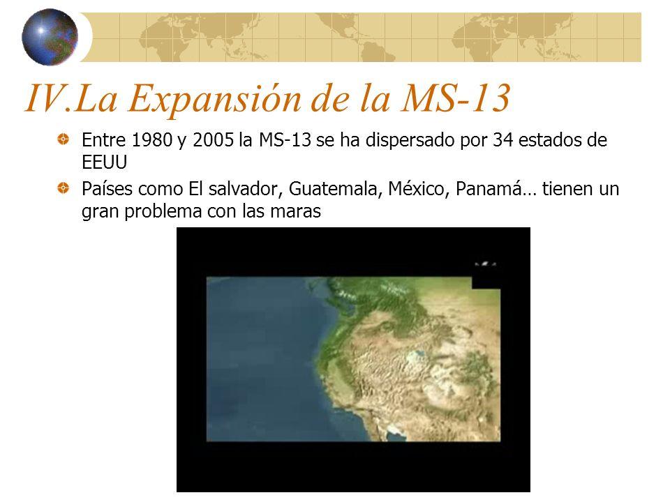 IV.La Expansión de la MS-13