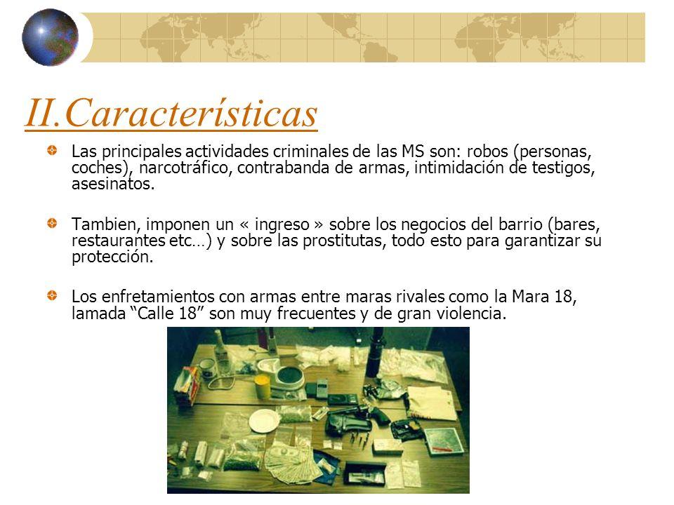 II.Características