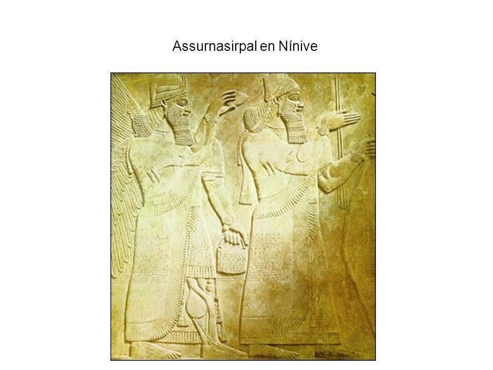 Assurnasirpal en Nínive