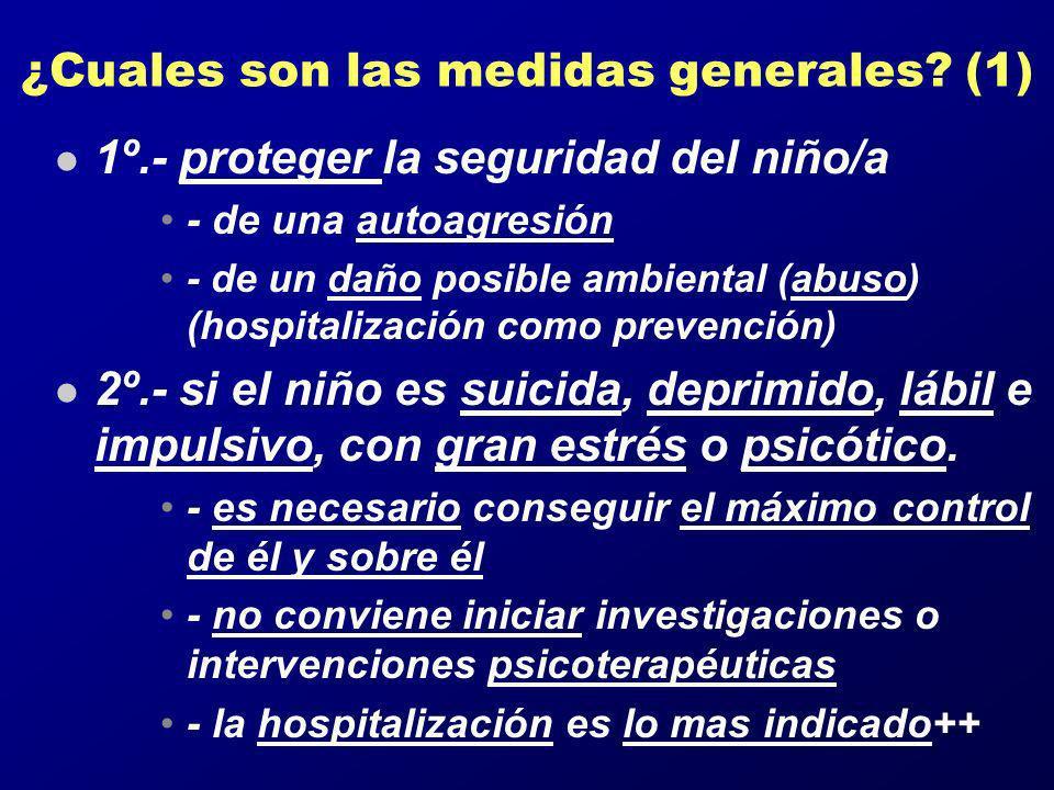 ¿Cuales son las medidas generales (1)