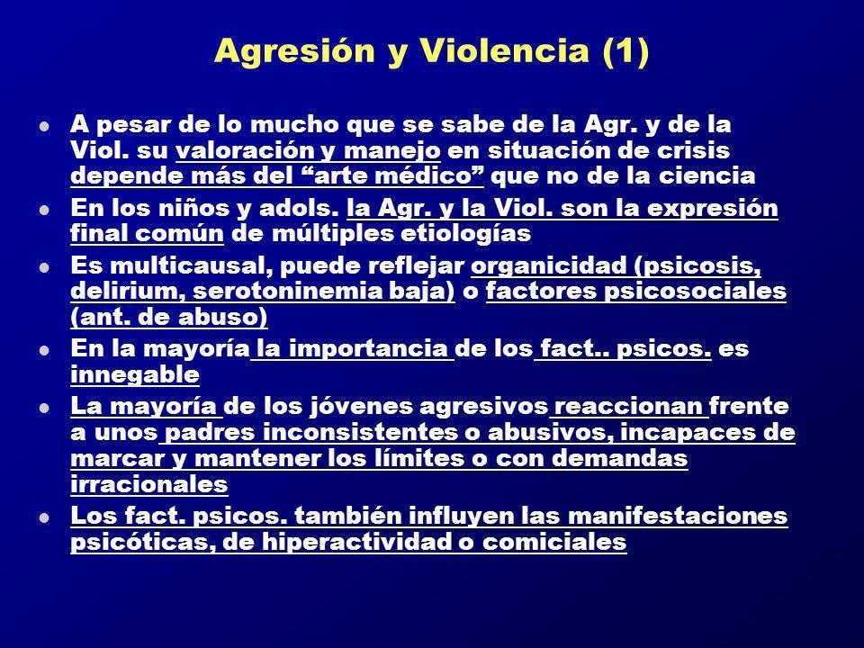 Agresión y Violencia (1)