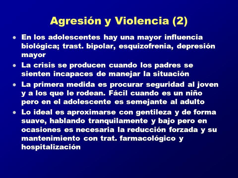 Agresión y Violencia (2)