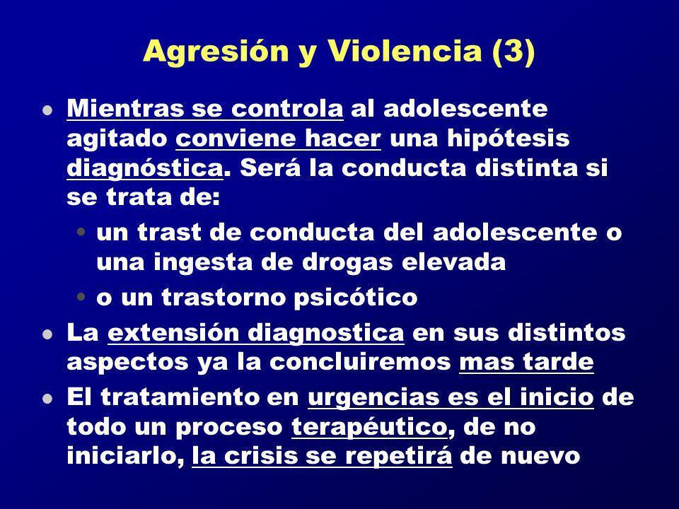 Agresión y Violencia (3)