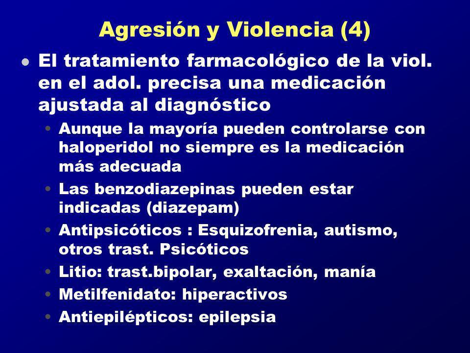 Agresión y Violencia (4)