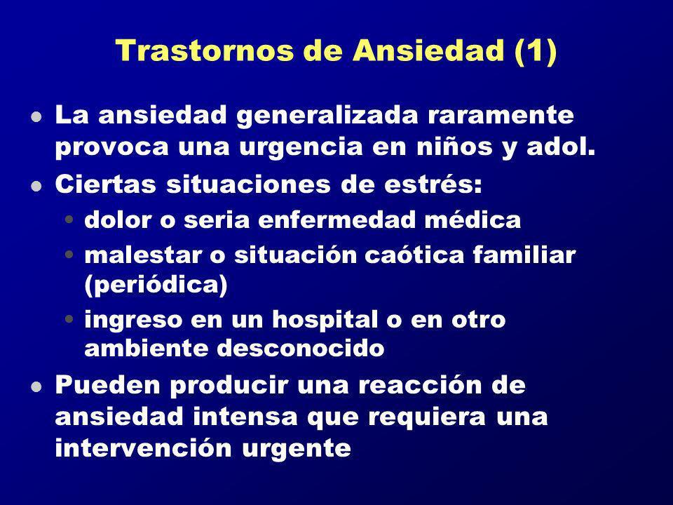 Trastornos de Ansiedad (1)