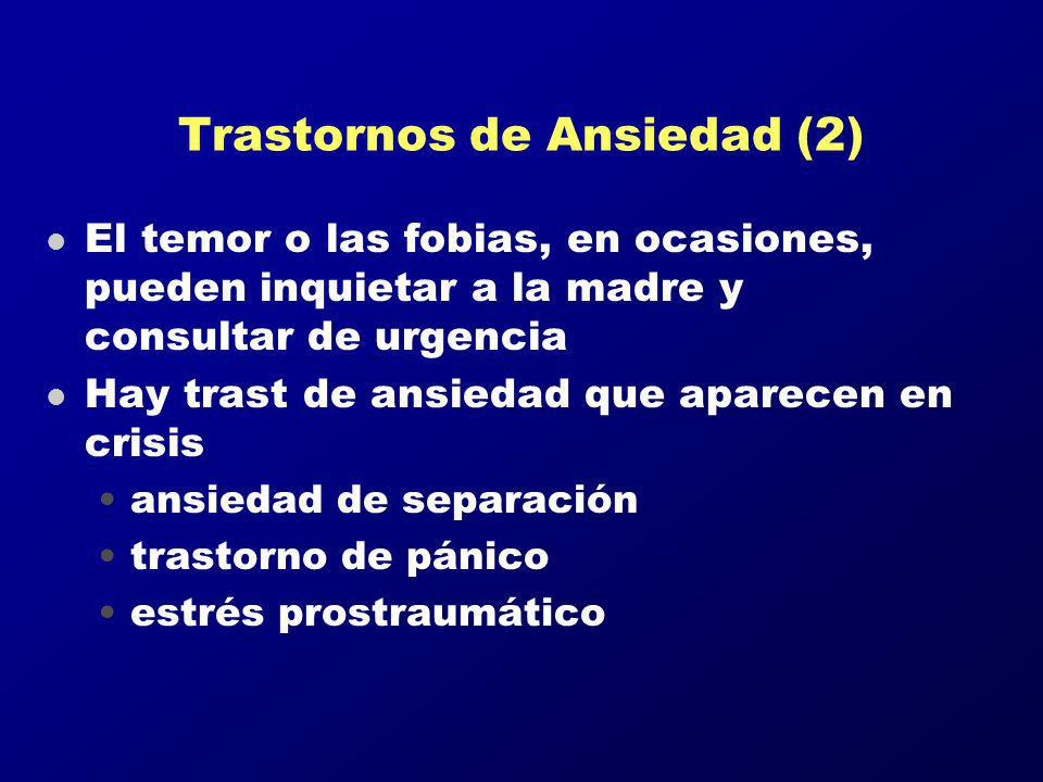 Trastornos de Ansiedad (2)