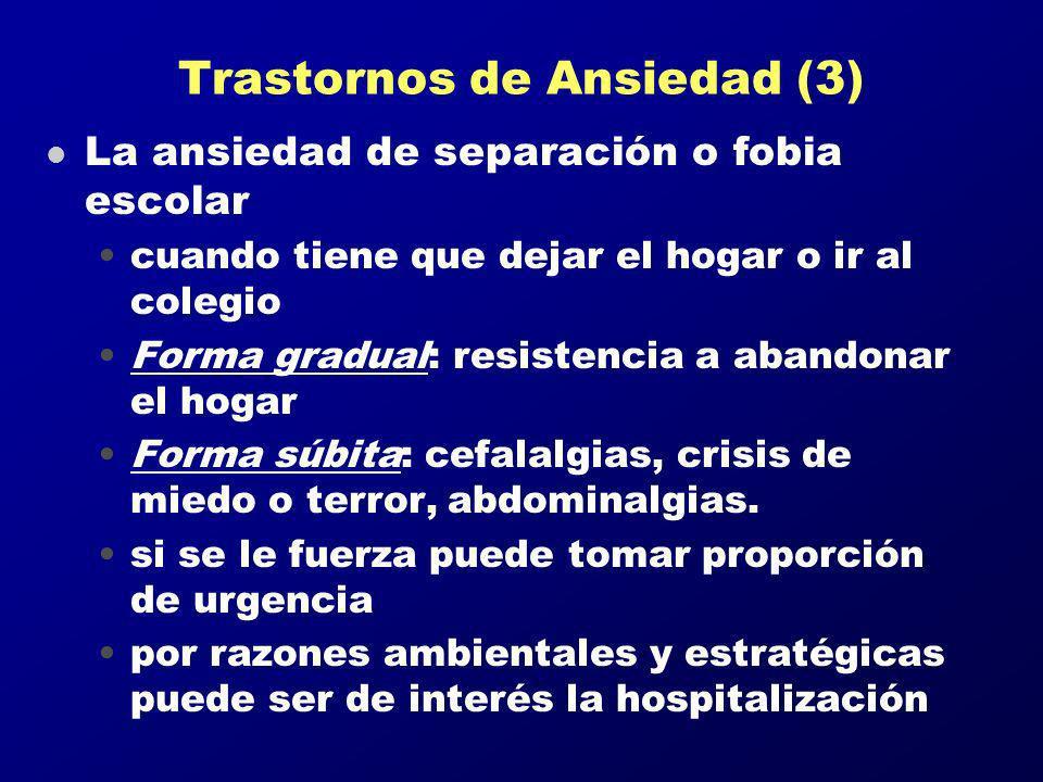 Trastornos de Ansiedad (3)
