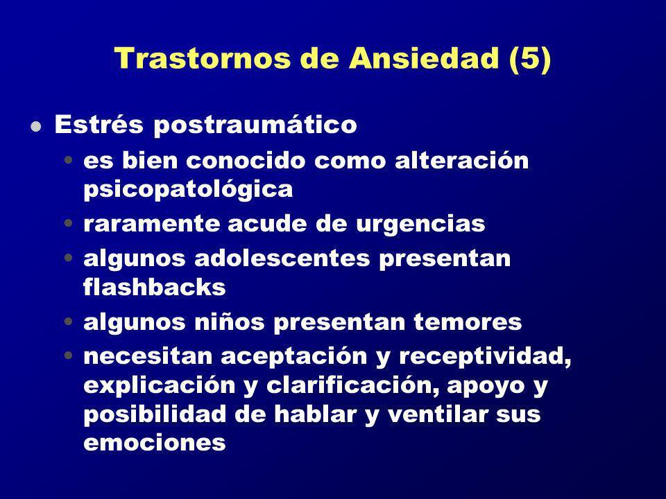 Trastornos de Ansiedad (5)